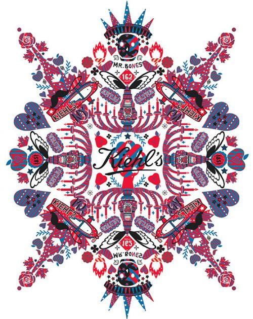 Kiehls x Newyork Art Pattern