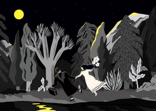 Run away with moonlight
